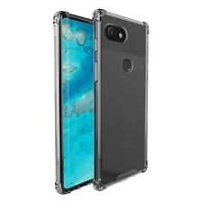 Google Pixel 3a XL amCase Protective TPU Crystal Clear Hybrid Bumper Case/Cover