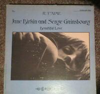 JANE BIRKIN & SERGE GAINSBOURG je t'aime / beautiful love LP Fontana