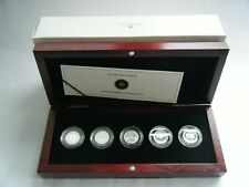2012 Canada 1Cent Farewell to the Penny Pure Silver Limited Edition 5 Coin Set