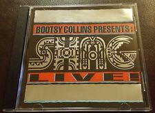 Bootsy Collins Presents: SHAG! Live! CD Rock Funk Soul 1994 NM-