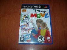 DISNEY MOVE PS2 PARA EYETOY (PAL ESPAÑA COMO NUEVO)