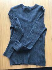 River Island 100% Cotton Grey Pullover Excellent Condition