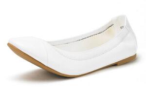 Women's Ballerina Ballet Flats Lady Casual Slip On Dress Flat Shoes