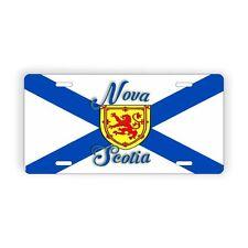 "Nova Scotia Auto Vanity Licence Plate 6"" x 12"" Aluminum Plate"