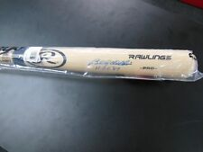 Billy Williams HOF 87 Autographed Signed Baseball Bat Rawlings Leaf COA Cubs
