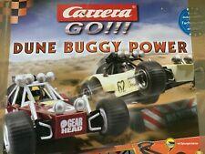 Carrera Go Dune Buggy Power Autorennbahn , Trafo, Looping