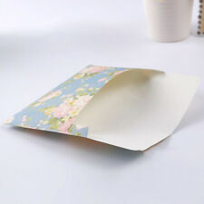 10pcs Floral Mini  Paper Envelopes for Card Letter Postcards Storage Bags