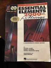 New listing Essentials Elements For Strings Violin Book 1