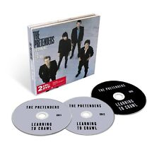 PRETENDERS - LEARNING TO CRAWL (2CD+DVD DELUXE EDITION) 2 CD + DVD NEW+