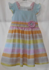 Girls 6 Rare Editions, pastel, short sleeve,confy, fun dress