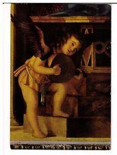 Postcard: Musician Angel - Church of St Mary Glorious of Frari, Bellini