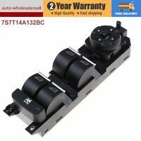 New Master Power Window Control Switch For Ford Mondeo S-Max Galaxy 7S7T14A132BC