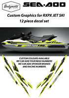 Seadoo RXPX Racing Graphics - Style BMPWC51119