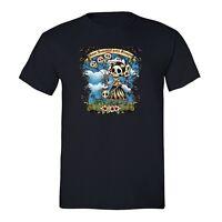 Mens Amor Immortal Sugar Skull Day of the Dead Dia Los Muertos Mexican T-Shirt