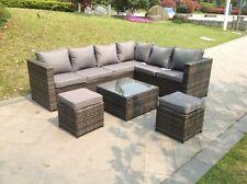 Surprising Grey Fabric Garden Patio Furniture Sets For Sale Ebay Inzonedesignstudio Interior Chair Design Inzonedesignstudiocom