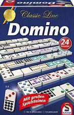 Kinder Spiele Classic Line: Domino mit Spielsteinen Mädchen Jungen Lernen