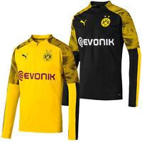PUMA Borussia Dortmund Sweatshirt Herren Fußball BVB Fan Pullover 755764