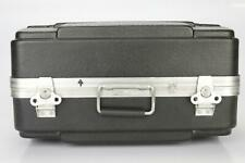 Molded Microphone Audio Video Hard Shell Road Flight Tour Briefcase Case #39292
