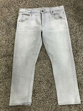 Citizens Of Humanity Jeans Sz 31 Emerson Slim Boyfriend Button Fly Gray Denim