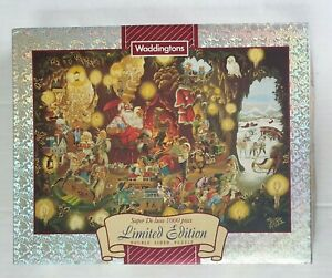 """Waddingtons Limited Edition Puzzle """"Santa's Grotto"""" 1000 pieces ** Complete **"""