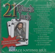 CD - Marco Antonio Solis NEW 21 Black Jack FAST SHIPPING !