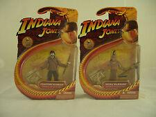 Indiana Jones Kingdom of the Crystal Skull Ugha & Cemetery Warrior figures