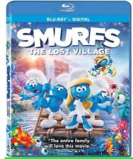 Smurfs the Lost Village Blu-ray + Digital Copy - SHIPS IN 1 BUSINESS DAY