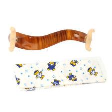 New Professional Maple Wood Violin Shoulder Rest Adjustable 3/4 4/4 Size