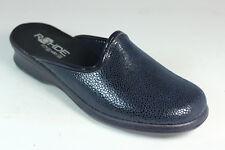 Rohde Damen Hausschuhe Gr.37 Pantoffel Pantolette Schuhe Damenschuhe *295e/#1120