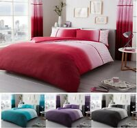 Luxuries URBAN-OMBRE Duvet Quilt Cover  With pillow Case Or Complete Set Bed SET