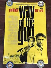 THE WAY OF THE GUN 27X40 DS MOVIE POSTER ONE SHEET NEW AUTHENTIC
