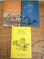 THE ROCKS SYDNEY, MOSMAN SKETCHBOOK, SYDNEY HARBOUR SKETCHBOOK-UNK WHITE-SIGNED