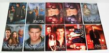 INKWORKS ANGEL SEASONS 1 -5 MIXED PROMO CARD LOT OF 10 CARDS JUST AS PICTURED
