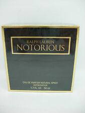 RALPH LAUREN NOTORIOUS EAU DE PARFUM50 ML SPRAY - RARO