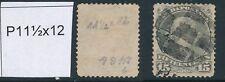 CANADA, 1868 15c slate P11½x12 (montreal prining), SG66, cat £300