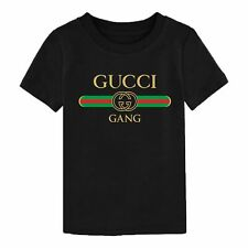 Kids LIL PUMP Gucci Gang Song T-Shirt Inspired Youth Children Kids Birthday Top