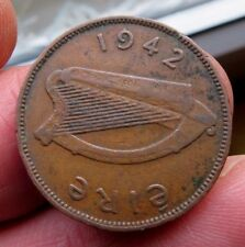 1942 Irish Half Penny