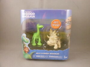 Disney Pixar The Good Dinosaur Arlo & Forrest Woodbush TOMY Mini Figure 2 Pack
