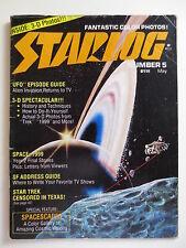 Starlog Magazine #5 May 1977 Space 1999 Star Trek Censored in Texas (M648)