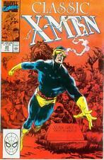 Classic X-Men # 44 (fotográficamente X-Men 138) (Estados Unidos, 1990)