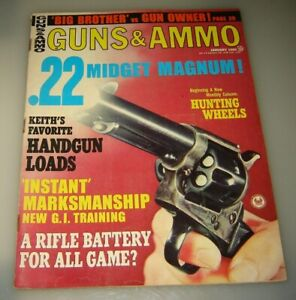 GUNS & AMMO Magazine January 1969 Vintage Original MOSSBERG SHOTGUN