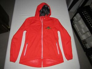 INDIANAPOLIS MOTOR SPEEDWAY INDY 500 WOMEN'S NIKE RED ZIP HOODED JACKET SIZE S