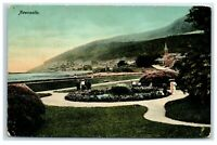 Postcard Newcastle County Down Northern Ireland posted 1914
