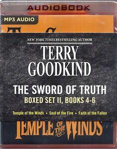 Terry Goodkind Sword of Truth Series: Books 04-06 Unabridged MP3 Audio Books