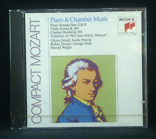 CD MOZART - piano & chamber music, Gould, Previn, Druian, Szell, Wright, ovp
