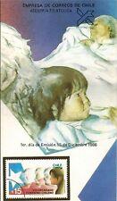 Chile 1986 Brochure Voluntariado Femenino