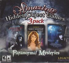 Amazing Hidden Object Games 3 Pack PC Games Windows 10 8 7 XP Computer seek find