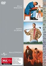 Billy Madison  / Happy Gilmore  / Bulletproof (DVD, 2006, 3-Disc Set)