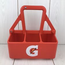 Gatorade Squeeze Bottle Carrier Orange 6 Spots Holder