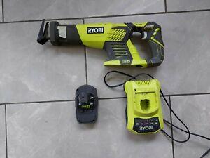Ryobi RRS1801M 18V Cordless Reciprocating Saw, Battery & Charger